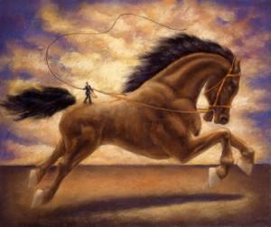 Taming Wild Horse