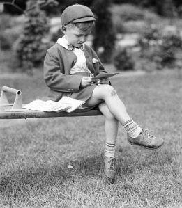 Jack Sharkey, Jr., Looking At Mail