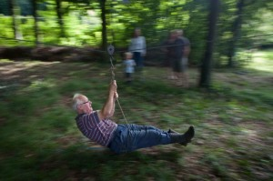 UK - Wrington - Zip wire fun in family woods